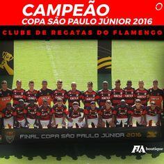 É CAMPEEEÃO! Flamengo vence nos pênaltis e conquista a Copinha pela terceira vez! Muito orgulho da #GarotadaDoNinho