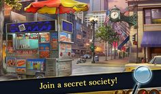 Mystery Society, Daily Rewards, Hidden Objects, Small Groups, Hot, Crime, Crime Comics, Fracture Mechanics