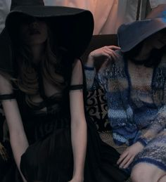 Nan Goldin -  Models in Rodarte, for Grey Magazine (2012)