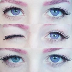 Eos Fay Violet contact lenses may appear faint on light colored eyes. The lenses are somewhat translucent in nature that blend flawlessly leaving your eyes look natural.
