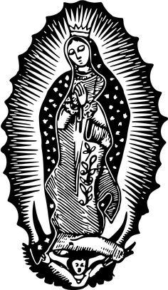 Virgin of Guadalupe by Firkin