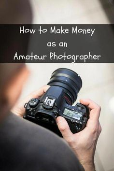 to Make Money as an Amateur Photographer There are lots of unique ways to earn extra money. Here's what you can do to…There are lots of unique ways to earn extra money. Dslr Photography Tips, Photography Lessons, Photography Tutorials, Photography Business, Digital Photography, Portrait Photography, Sexy Photography, Wedding Photography, Landscape Photography