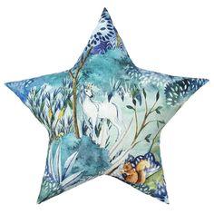 Bomull lys blå med enhjørningverden - STOFF & STIL Barn, Waves, Artwork, Converted Barn, Work Of Art, Auguste Rodin Artwork, Artworks, Ocean Waves, Barns
