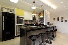 'Cozinha Apartamento em Alphaville Juliana Conforto Viva Decora - 13826'