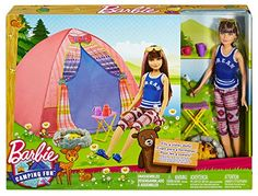 Barbie Camping Fun Skipper Doll And Tent Playset Barbie 2000, Barbie Skipper, Barbie Sisters, Barbie Accessories, Lol Dolls, Vintage Barbie Dolls, Barbie Furniture, Antique Dolls, Kids Christmas