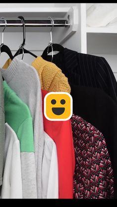 Amazing Life Hacks, Simple Life Hacks, Useful Life Hacks, Diy Crafts Hacks, Diy Home Crafts, Home Organization Hacks, Closet Organization, Clothing Hacks, Closet Clothing