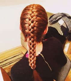 Hybrid braid   braids   Pinterest   Hair style  Hair goals and Super     Braids  Hair Styles  Hair Dos  Braid Hairstyles  French Braids  Hairdos   Haircut Styles  Hairstyles  Twists