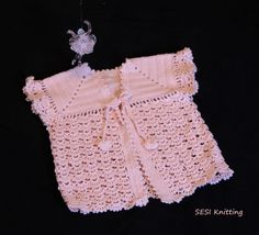 Cute Crochet Cardigan for kids. It is cheap. Products | Sesi Knitting