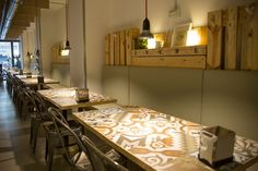 Proyecto iluminación.- Enede #LightingDesigners #Iluminacion #OsabaIluminacion #Cafeteria #Decoración