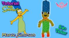 ♥ Tutorial: Marge Simpson de gomitas (sin telar) ♥