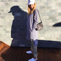 pernille teisbaek is the epitome of Scandi-cool in the Lila Nika silk trousers from  Olivia Von Halle