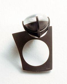 The Winter Ring, quartz, 925 Ag
