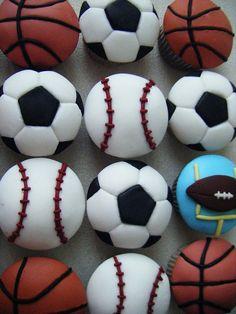 Sports cupcakes | Flickr: Intercambio de fotos