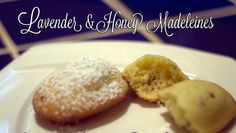 Lavender & Honey Madeleines Authentic French Recipe - 8 pieces