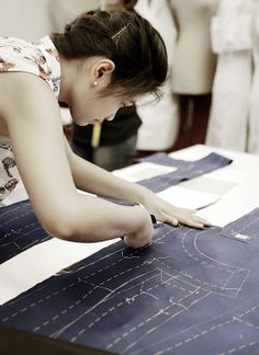 Haute Couture tailoring course at ACCADEMIA KOEFIA