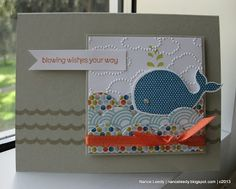 Oh Whale set - Stampin' Up!