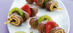 Mikado trifft Tender, Schokolade trifft Erdbeer, Kiwi trifft Kuchen und alle zusammen treffen den genau Geschmack!    Da wird jeder gerne zum Spießer, mit diesen Mikado & Milka Tender Spießchen. Bleibt original Leute!