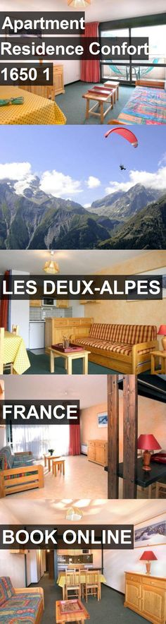 Apartment Residence Confort 1650 1 In Les Deux Alpes, France. For More  Information