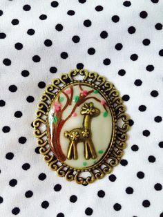 Camafeo jirafa