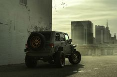 Check out the $122,888 Starwood Motors Nighthawk Jeep Wrangler with custom paint, wheels, interior, and suspension with full gallery at MotoringExposure.com