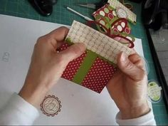 ▶ Gift card Holder and bow package www.frenchiestamps.com - YouTube