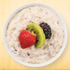 Calories per Serving: Servings: Active Time: 15 minutes, Total Time to Make: 12 hours, 15 minutes Whole Grain Foods, High Fiber Foods, Breakfast Of Champions, Recipe Today, Recipe Of The Day, Greek Yogurt, Sunrise, Brunch, Meals