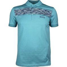 9f0231a94a Hugo Boss Golf Shirt - Paddy Pro 4 - Training White FA17: Amazon.co.uk:  Sports & Outdoors