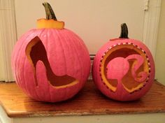 Barbie Pumpkin Carving. Reminds me of Heather Godsend..