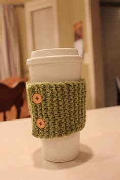 A peek at my recent handwork projects: Cup Cozy, Fingerless Gloves, & Embroidery