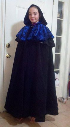 Jess in Halloween cape  made 11_11