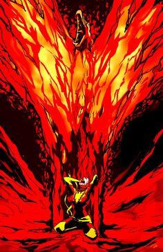 Dark Phoenix by Ray Ocampo
