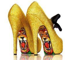 Yellow Tiger Shoes (LB)