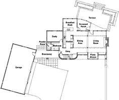 images about Sarah Susanka on Pinterest   Big Houses  A    Floor Plan  Sarah Susanka plan sq ft Craftsman