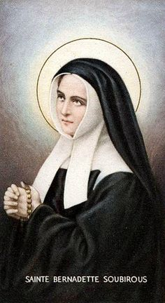 Saint Bernadette, Bernadette Of Lourdes, St Bernadette Soubirous, Catholic Art, Catholic Saints, Roman Catholic, Santa Bernardita, Jesus Jose Y Maria, Religion Vs Spirituality