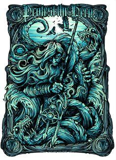 Dan Mumford's Poseidon