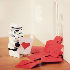 Stormtroopers need love too. :)