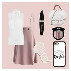 """""""Untitled #175"""" by rozlynjanine ❤ liked on Polyvore featuring Chicwish, MICHAEL Michael Kors, Charlotte Russe, Maison Margiela, Max Factor, Edward Bess, Blue Nile and Casetify"""