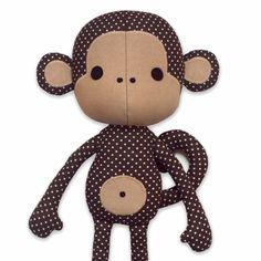 Cute Monkey Sewing Pattern