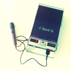 A cassette recorder from late 60s, a clone from Philips E3300 (the first cassette recorder from 1963)