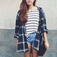 red and white flannel women - Google Search
