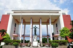 2. Quezon Hall, University of the Philippines Diliman. This, for me, is a great institutional symbol. This is iconic for me because the building has its own aesthetic appeal and a strong aura of integrity and intelligence.