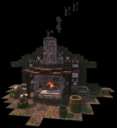 Minecraft Create, Medieval, Buildings, Projects, Movie Posters, Art, Log Projects, Art Background, Blue Prints