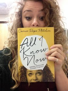 Carrie Hope Fletcher - love her, so I gotta read this! Youtuber Books, Carrie Hope Fletcher, Danisnotonfire, Phil Lester, Les Miserables, Any Book, Cursed Child Book, Book Of Life, I Love Books