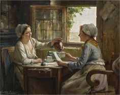 From: Gallery Art New York  By EDWARD ANTOON PORTIELJE 1861-1949