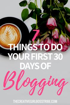 Calling all bloggers! Have you just started blogging and feeling completely overwhelmed by everything you need to learn? I've got you covered with this in-depth post that shows you everything you need to do in your first 30 days of blogging! Promise, no fluff!