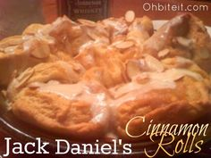 ~Jack Daniel's Cinnamon Rolls!
