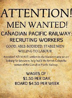Who Will Build It? Recruiting Workers for the Canadian Pacific Railway