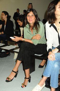Emmanuelle Alt #NYFW / oh how i've missed her <3
