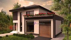 Casa moderna organizata functional pe parter si etaj, ofera tot confortul si necesarul stilului dumneavoastra de viata  Modern single-family dwelling- Street view  Etichete: proiect casa, proiecte case, proiecte case cu etaj, proiecte case moderne, case moderne