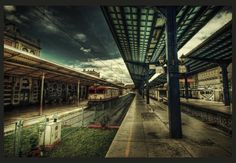 A Train to Nowhere HDR by *ISIK5